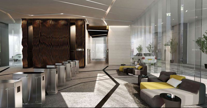 3 Towers Commercial Office Interior Design